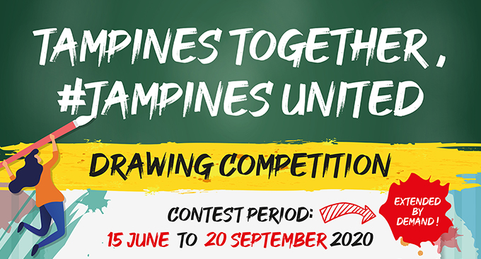 Tampines Together, #Tampines United Drawing Competition