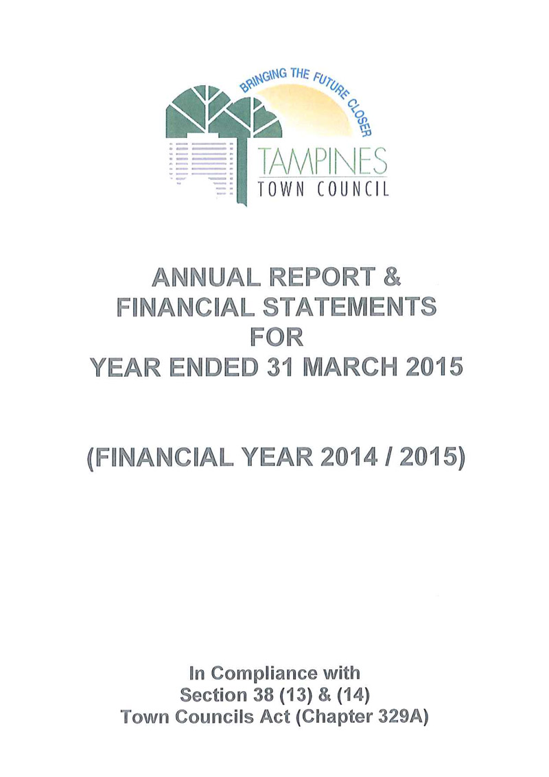 Annual Report FY 2014 / 2015